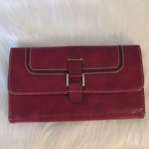 Nine West TriFold Checkbook Wallet